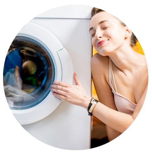 bucato in poco tempo, igienizzato e pulito