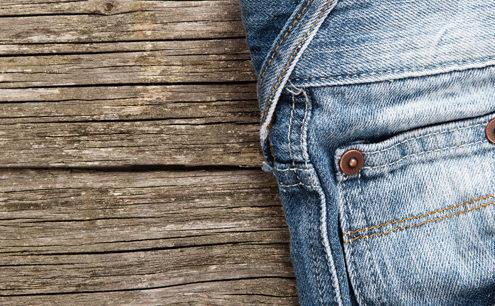 lavaggio jeans in lavatrice