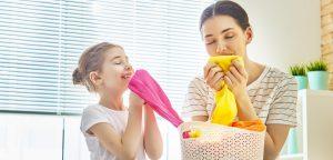 Eliminare batteri dal bucato di casa