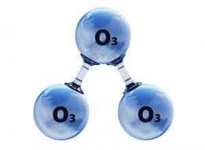 ozono per il bucato pulito