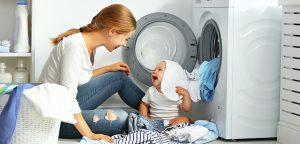 bassi consumi per la lavatrice di casa