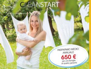 risparmio detergente per bucato immaccolato
