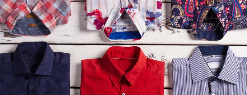 camicie in lavatrice