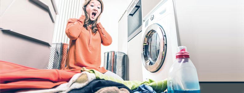 candeggina in lavatrice