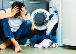 la lavatrice non lava bene