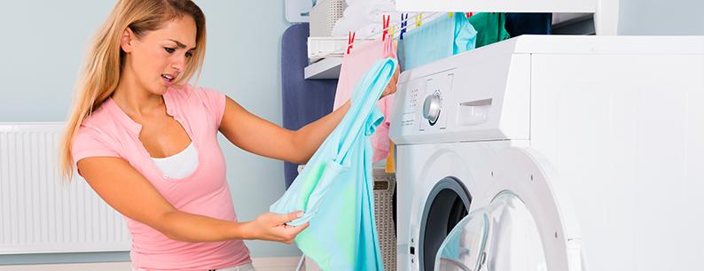 gli errori di bucato come rimediare